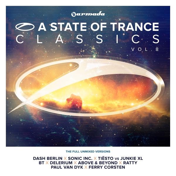 A State of Trance Classics Vol 8 The Full Unmixed Versions Armin van Buuren CD cover