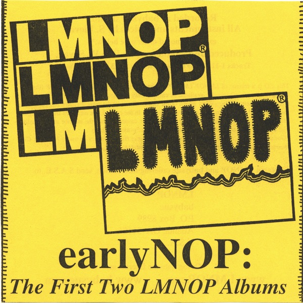 EarlyNOP The First Two LMNOP Albums LMNOP CD cover