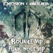 Destroid 7 Bounce (VIP) / Destroid 10 Funk Hole (VIP) - Single cover art