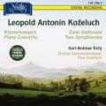 Leopold Antonin Kozeluch 1er mouvement de la symphonie en sol mineur