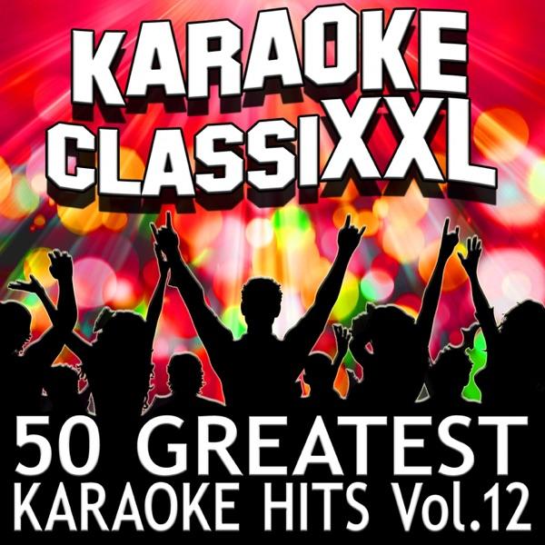 50 Greatest Karaoke Hits Vol 12 Karaoke Version Dohn Joe CD cover