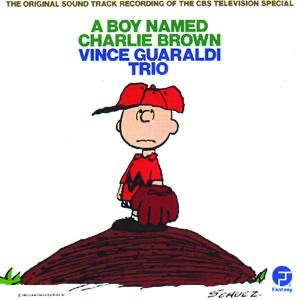 A Boy Named Charlie Brown Vince Guaraldi Trio CD cover