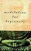 Jack Kornfield - Meditation for Beginners artwork