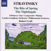 Stravinsky: The Rite of Spring - The Nightingale - London Symphony Orchestra, Philharmonia Orchestra & Robert Craft Cover Art