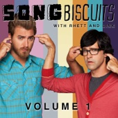 Song Biscuits, Vol. 1 - Rhett and Link Cover Art
