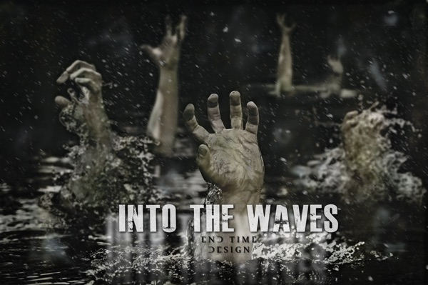 Into the Waves - Single End Time Design CD cover