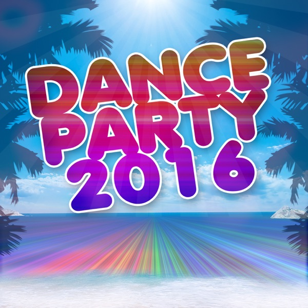 Dance party 2016 album cover by various artists for House music cover