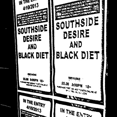 "Southside Desire/Black Diet Split 7"" - EP"