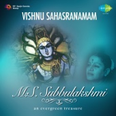M. S. Subbulakshmi - Vishnu Sahasranamam - EP artwork