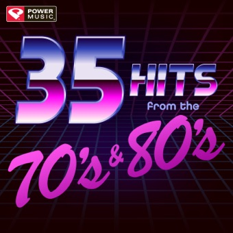 35 Hits from the 70's & 80's (Unmixed Workout Music Ideal for Gym, Jogging, Running, Cycling, Cardio and Fitness) – Power Music Workout