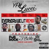 Everyday We Lit (feat. PnB Rock, Lil Yachty & Wiz Khalifa) [Remix] - YFN Lucci Cover Art