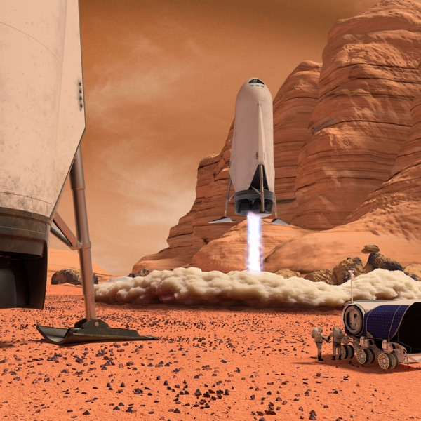 Healthy and Well on Mars and Beyond