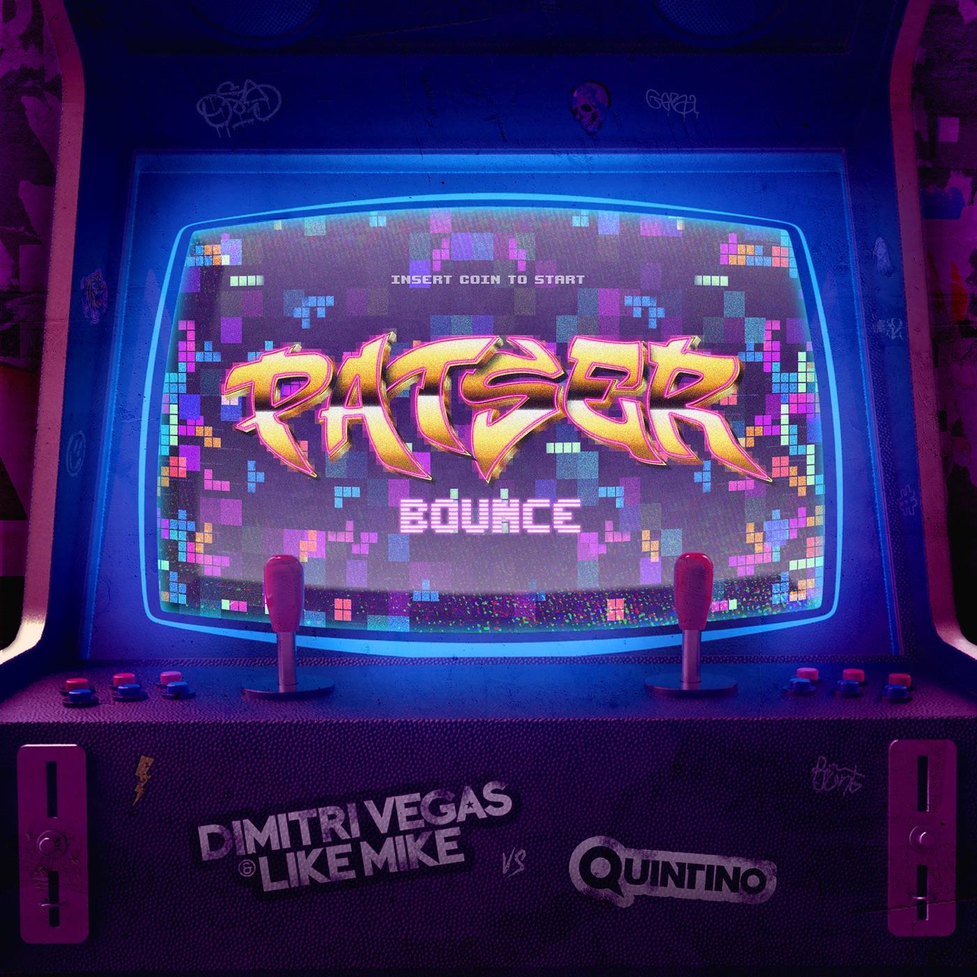Dimitri Vegas & Like Mike & Quintino - Patser Bounce - Single Cover