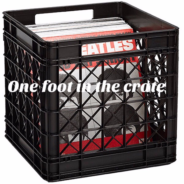 One foot in the crate with Colin Bradford