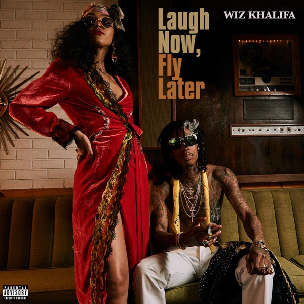 Laugh Now Fly Later Wiz Khalifa CD cover