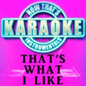 That's What I Like (Originally Performed by Bruno Mars) [Instrumental Karaoke Version]