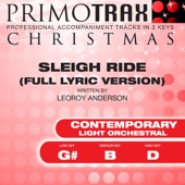 Sleigh Ride (Contemporary Light Orchestral) [Christmas Primotrax] [Performance Tracks] - EP