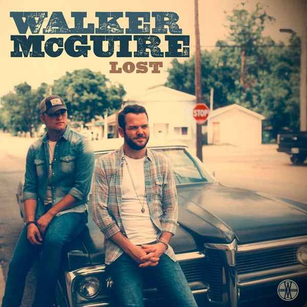 Lost - Single Walker McGuire CD cover