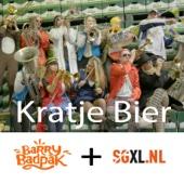 Barry Badpak & Slechte Grappen XL - Kratje Bier kunstwerk
