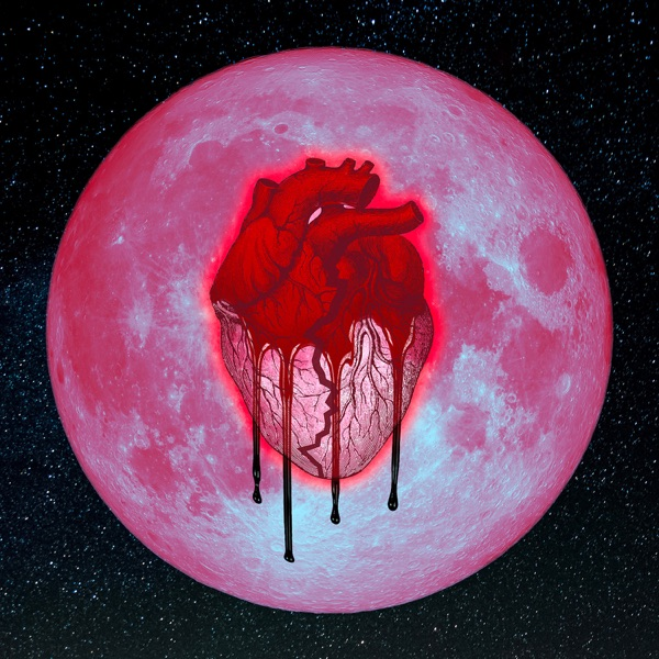 Heartbreak on a Full Moon Chris Brown CD cover