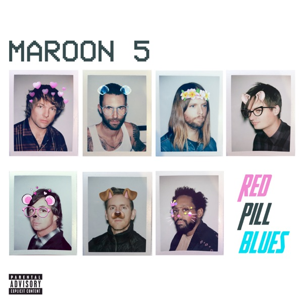 Red Pill Blues Album Cover by Maroon 5