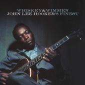 Whiskey & Wimmen: John Lee Hooker's Finest - John Lee Hooker Cover Art