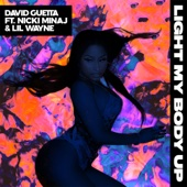 David Guetta - Light My Body Up (feat. Nicki Minaj & Lil Wayne) kunstwerk