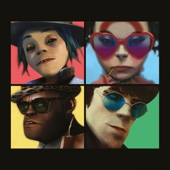 Gorillaz - Humanz  artwork
