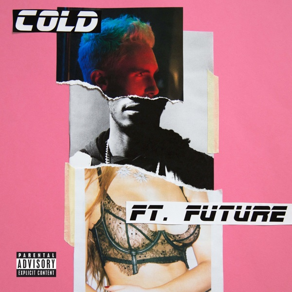 Cold feat Future - Single Maroon 5 CD cover