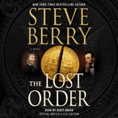 The Lost Order: Cotton Malone, Book 12 (Unabridged) - Steve Berry Cover Art