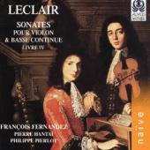 Leclair: Sonates pour violon et basse continue, Livre IV