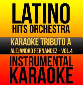Instrumental Karaoke Series: Alejandro Fernandez, Vol. 4 (Karaoke Version) – Latino Hits Orchestra
