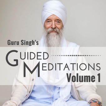 Guided Meditations, Vol. 1 – Guru Singh