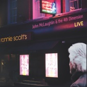 John McLaughlin and the 4th Dimension - Live at Ronnie Scott's  artwork