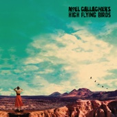 Noel Gallagher's High Flying Birds - Who Built the Moon? artwork
