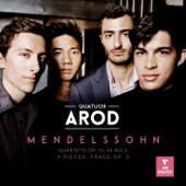 Mendelssohn: String Quartets Nos. 2 & 4 - 4 Pieces for String Quartet, Op. 81