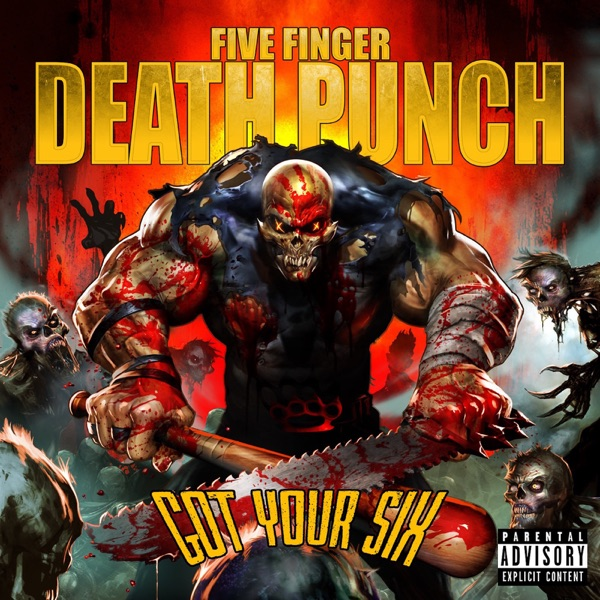 Got Your Six Deluxe Five Finger Death Punch CD cover