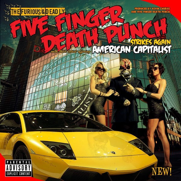 American Capitalist Five Finger Death Punch CD cover