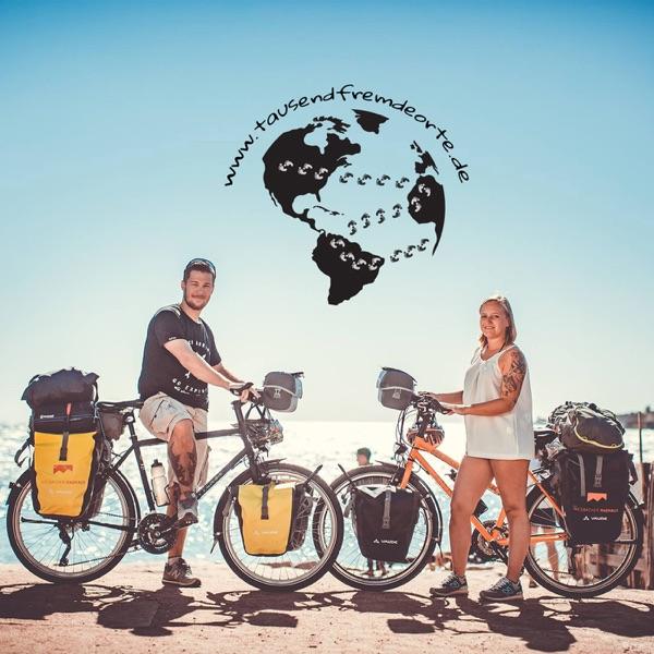 Tausend fremde Orte - Reisegeschichten mit und ohne Fahrrad