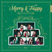 TWICE - Merry & Happy artwork