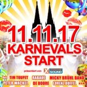 11.11.17 Karnevals Start präsentiert von Xtreme Sound