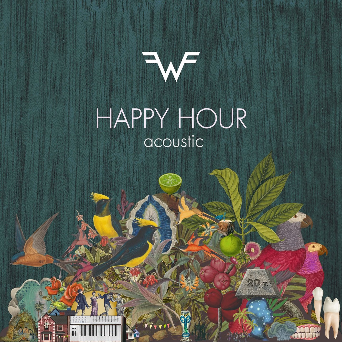 Weezer - Happy Hour (Acoustic) - Single Cover