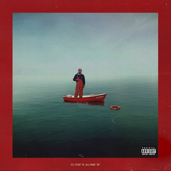 Lil Boat Lil Yachty CD cover