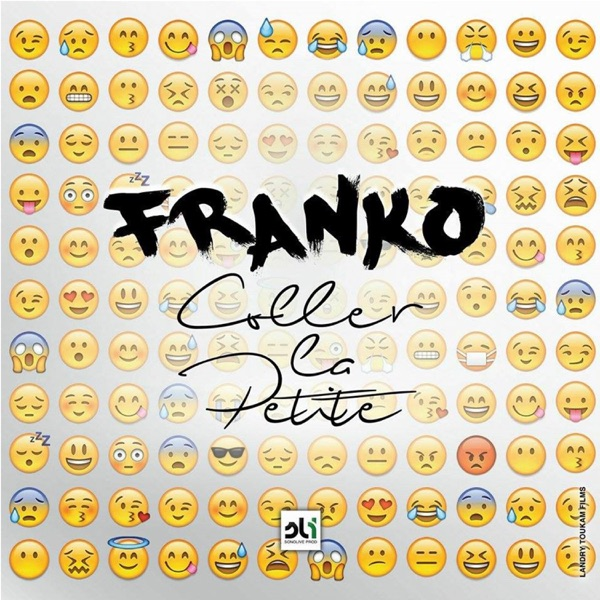 coller la petite single album cover by franko. Black Bedroom Furniture Sets. Home Design Ideas