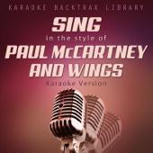 No More Lonely Nights (Originally Performed by Paul McCartney) [Karaoke Version]