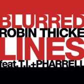Robin Thicke - Blurred Lines (feat. T.I. & Pharrell) Grafik