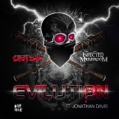 Evilution (feat. Jonathan Davis) - Single cover art