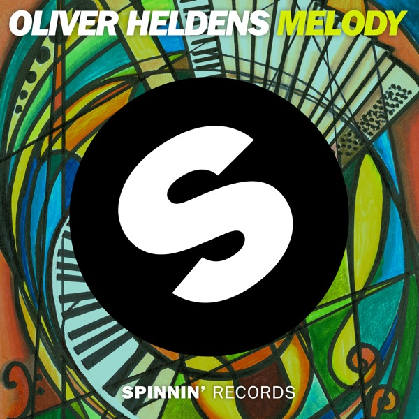 Melody - Single Oliver Heldens CD cover