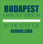 Budapest (In the Style of George Ezra) [Karaoke Backing Track]