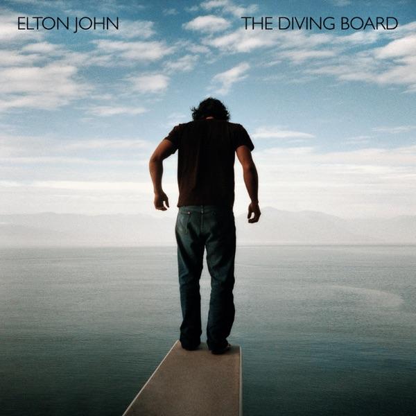 The Diving Board Deluxe Version Elton John CD cover